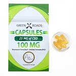 Green Roads 100mg CBD Capsules