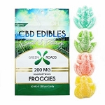 Green Roads 200mg CBD Froggie Gummies