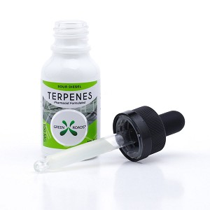 Green Roads 100mg Sour Diesel Terpenes CBD 15ml